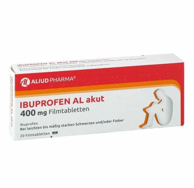 Ibuprofen gegen Zahnschmerzen