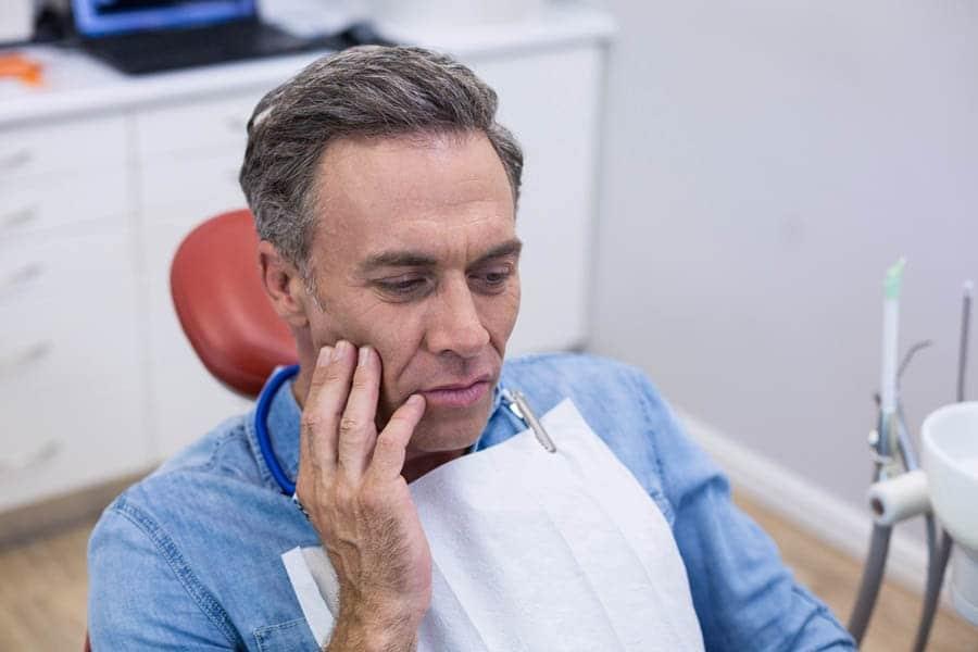 Zahnschmerzen Banner